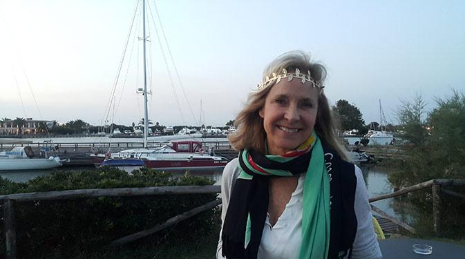 Helen Fisher in Rome