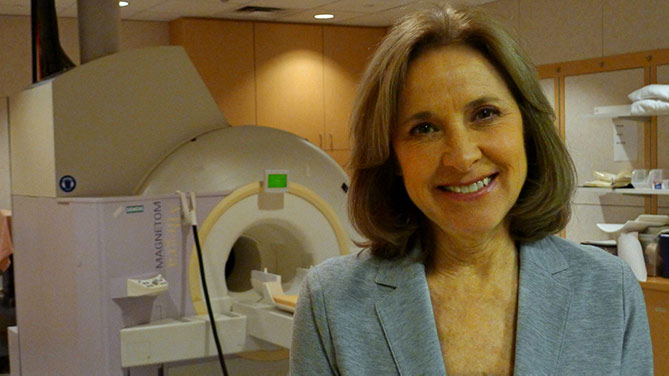Helen with MRI